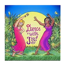 Dance With Joy Tile Coaster