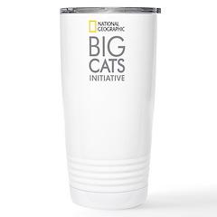 Big Cats Initiative Stainless Steel Travel Mug