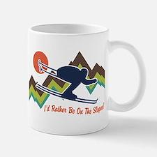 I'd Rather Be On The Slopes Mug