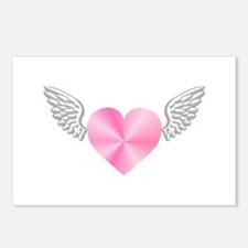 Winged Heart Postcards (Package of 8)