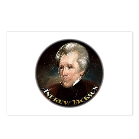 Andrew Jackson ~ Postcards (Package of 8)