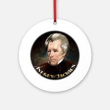Andrew Jackson ~ Ornament (Round)