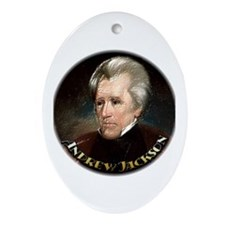 Andrew Jackson ~ Ornament (Oval)