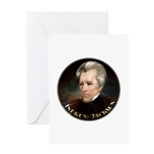 Andrew Jackson ~ Greeting Card