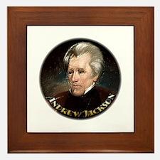 Andrew Jackson ~ Framed Tile