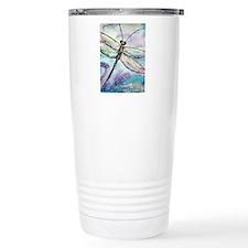 Dragonfly, Beautiful, Travel Mug