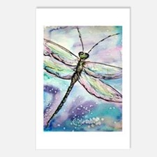 Dragonfly, Beautiful, Postcards (Package of 8)