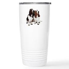 Basset Hounds Travel Mug
