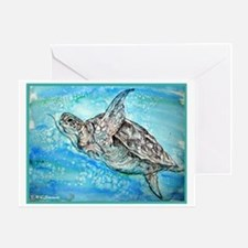 Sea Turtle, Nature Lover's, Greeting Card