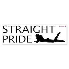 Straight Pride (Sexy)<br>Bumper Bumper Sticker