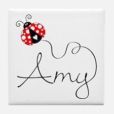 Ladybug Amy Tile Coaster