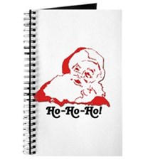 Santa Claus Holiday Journal--Recipe Book