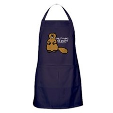 Real Foodies Eat Beaver by GourmetBeaver.com Apron