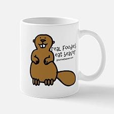 Real Foodies Eat Beaver by GourmetBeaver.com Mug