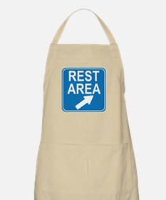 Rest Area Sign Apron