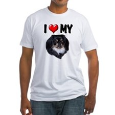 I Love My Pekingese (black) Shirt