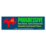 Progressive<br>Bumper Sticker