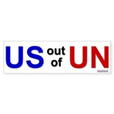 Bumper Sticker: U.S. out of U.N.