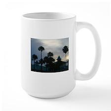 Palm Trees at Dusk Mug