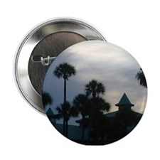 """Palm Trees at Dusk 2.25"""" Button"""