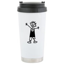 Zombie Boy Travel Mug