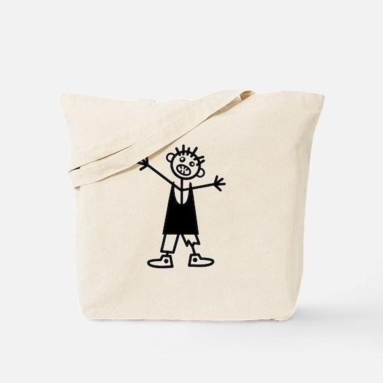 Zombie Boy Tote Bag