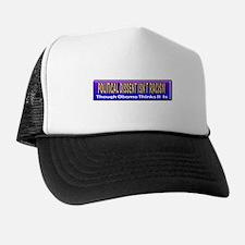 Political Dissent Isn't Racis Trucker Hat