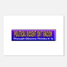 Political Dissent Isn't Racis Postcards (Package o