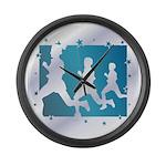 Running Large Wall Clock