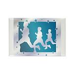 Running Rectangle Magnet (100 pack)