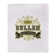 Vintage Property of Cullen Throw Blanket