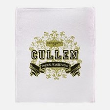 Vintage Property of Cullen Throw Blanket