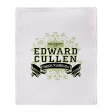 Edward Cullen Twilight Throw Blanket