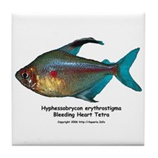 Bleeding Heart Tetra Tile Coaster