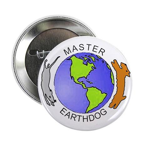 """Master Earthdog 2.25"""" Button"""