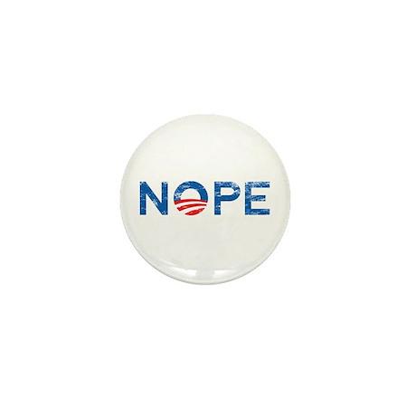 NOPE Anti Obama Mini Button (10 pack)