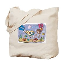 SCUBA Kids Tote Bag