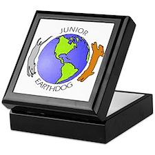 Junior Earthdog Keepsake Box