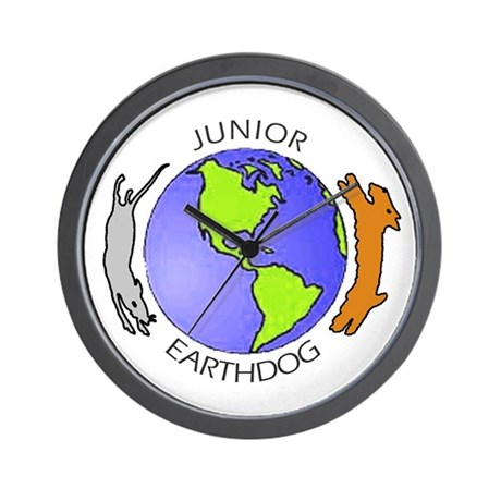 Junior Earthdog Wall Clock