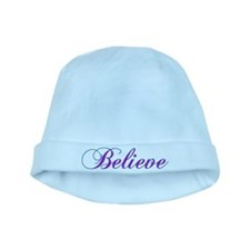 Believe Gifts in Purple & Teal baby hat