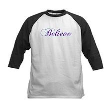 Believe Gifts in Purple & Teal Tee