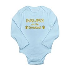 Lhasa Apso Long Sleeve Infant Bodysuit