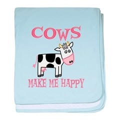 Cows baby blanket