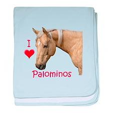Funny Palomino baby blanket