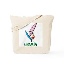 Windsurfer Grampy Tote Bag