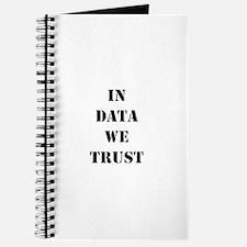 In data we trust Journal