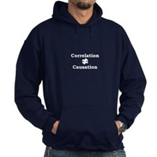 Correlation doesn't equal cau Hoodie