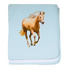 Cool Palomino baby blanket