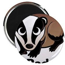 """I Love Badgers 2.25"""" Magnet (10 pack)"""