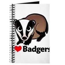 I Love Badgers Journal